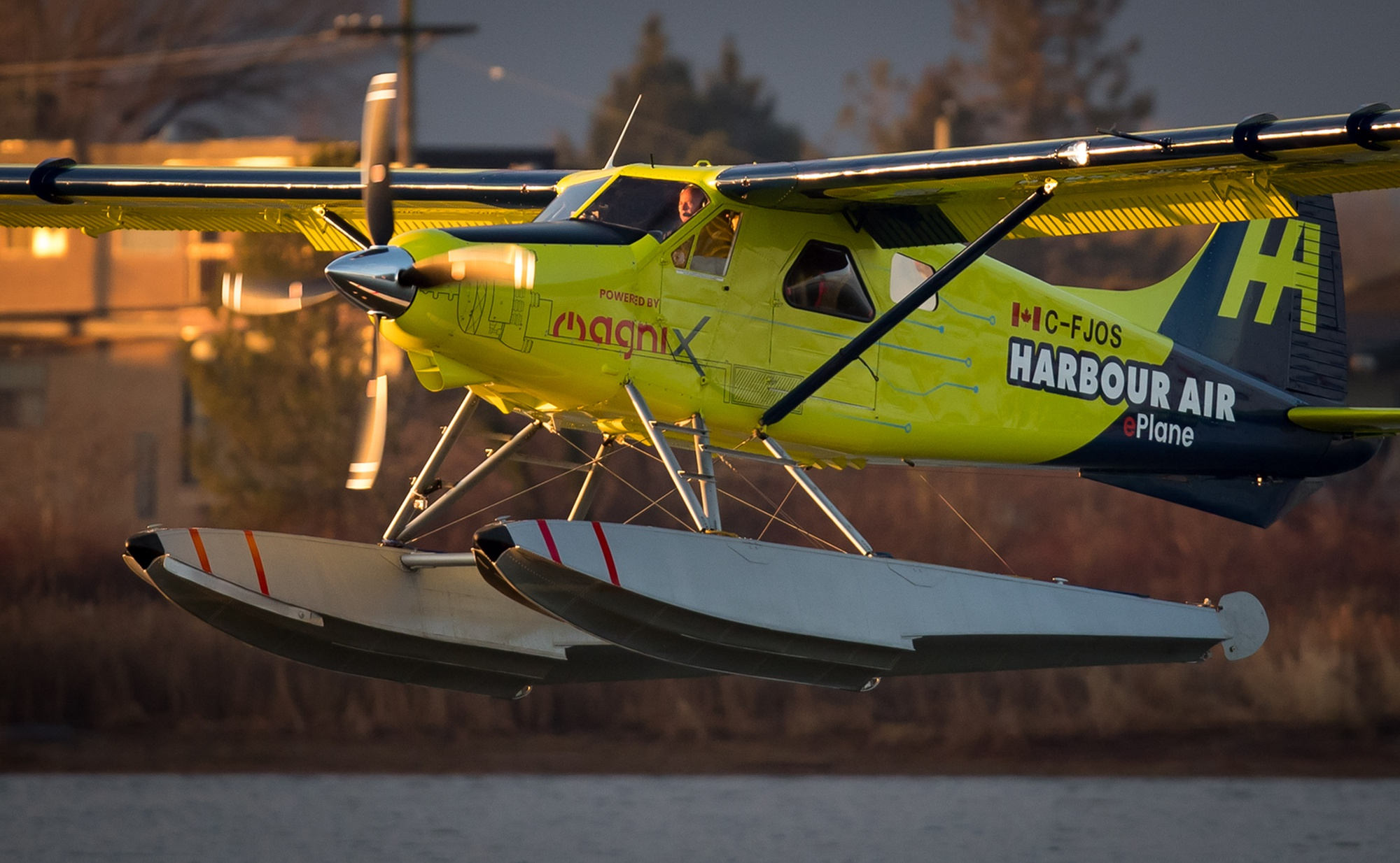 harbour air electric powered seaplane
