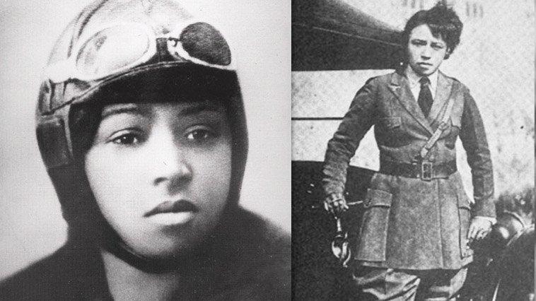 bessie coleman first women pilot