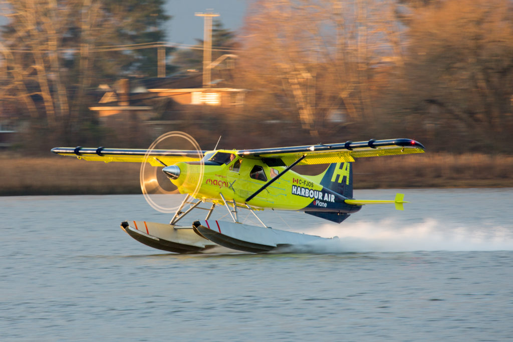 Harbor Air's Electric Powered DHC-2 Beaver