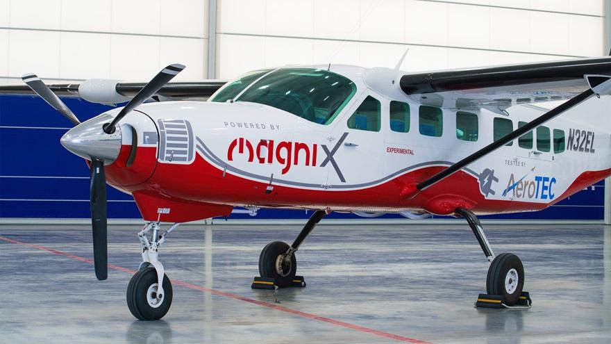 MagniX Electric e-plane – Cessna Caravan