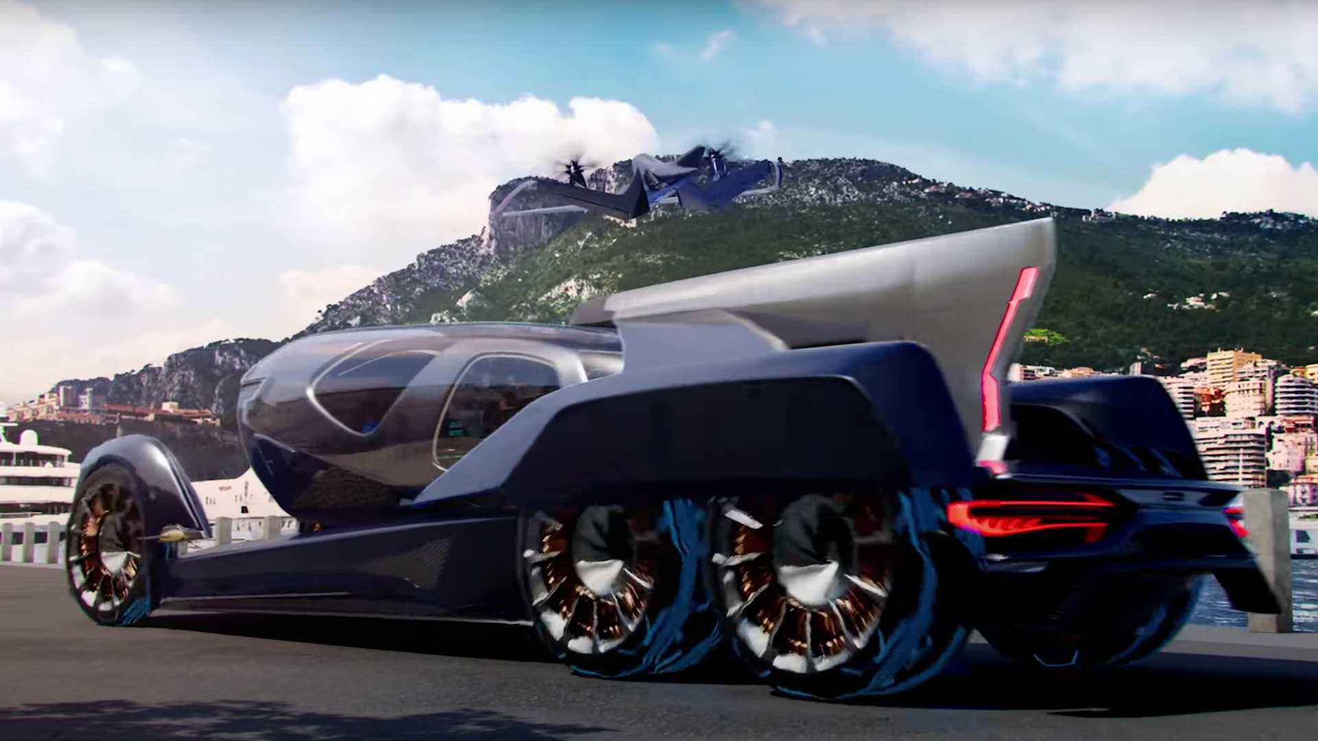 Embraer Pulse Concept Vehicle